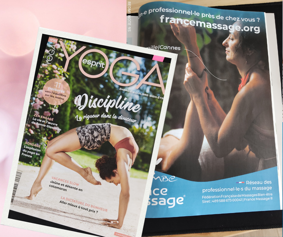 Insertion publicitaire Esprit Yoga n°63