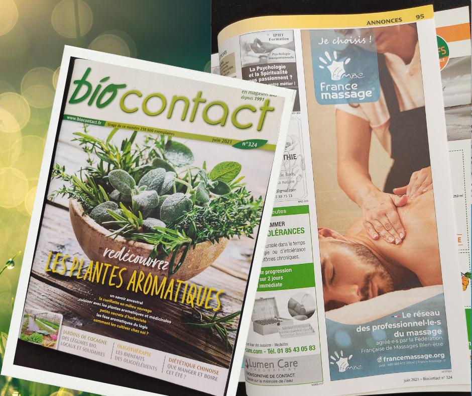 couverture et insertion biocontact 324